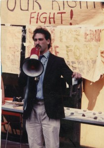 Lehman Protest