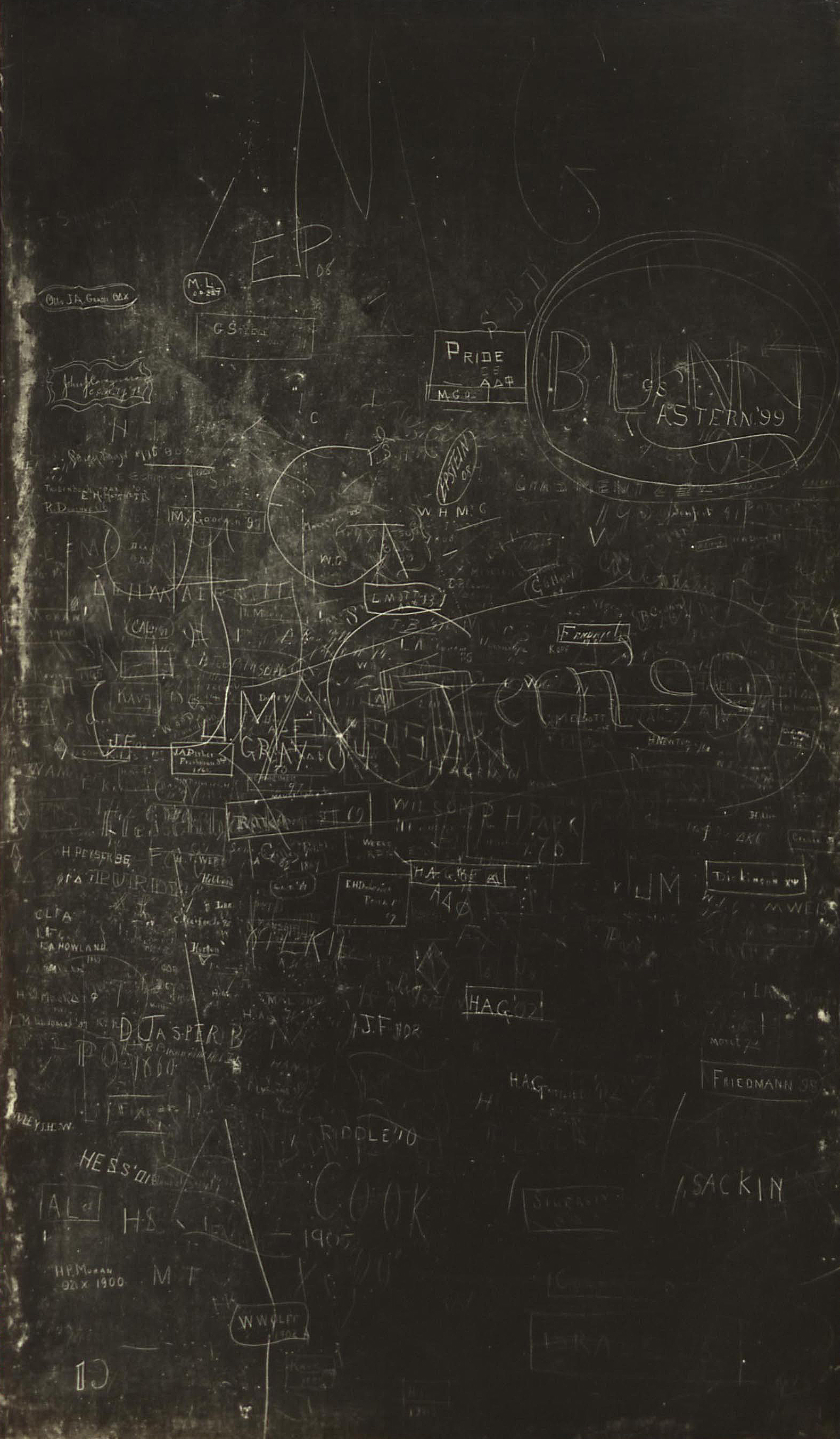 1899 Free Academy Blackboard